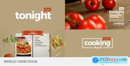 Videohive Broadcast Cooking Package