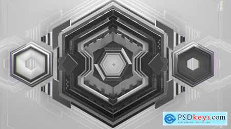 Videohive Hexagon Intro