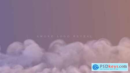 Videohive Smoke Logo Reveal