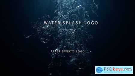 Videohive Water Splash Logo