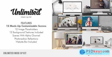 Videohive Unlimited Mock Up Kit