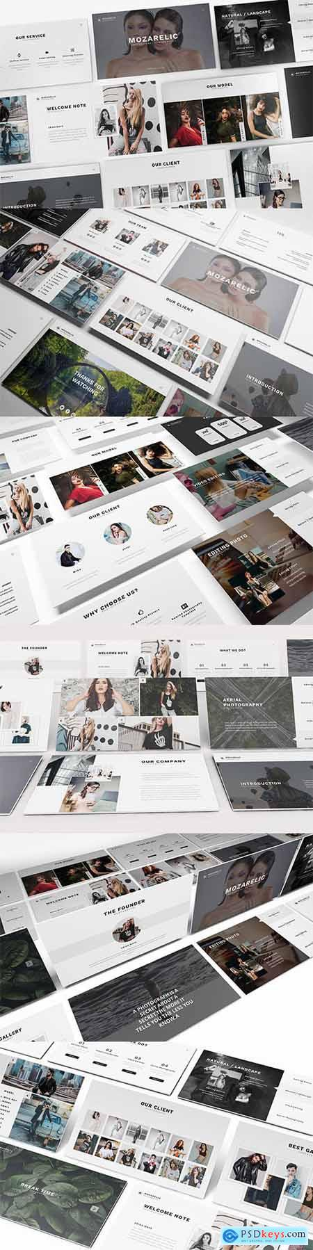 Mozarelic Photography Powerpoint Template
