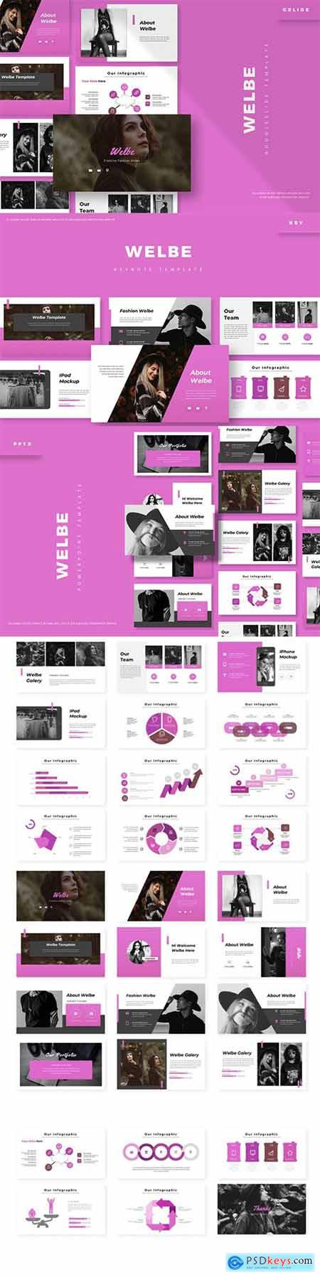 Welbe - Powerpoint, Keynote and Google Slides Templates