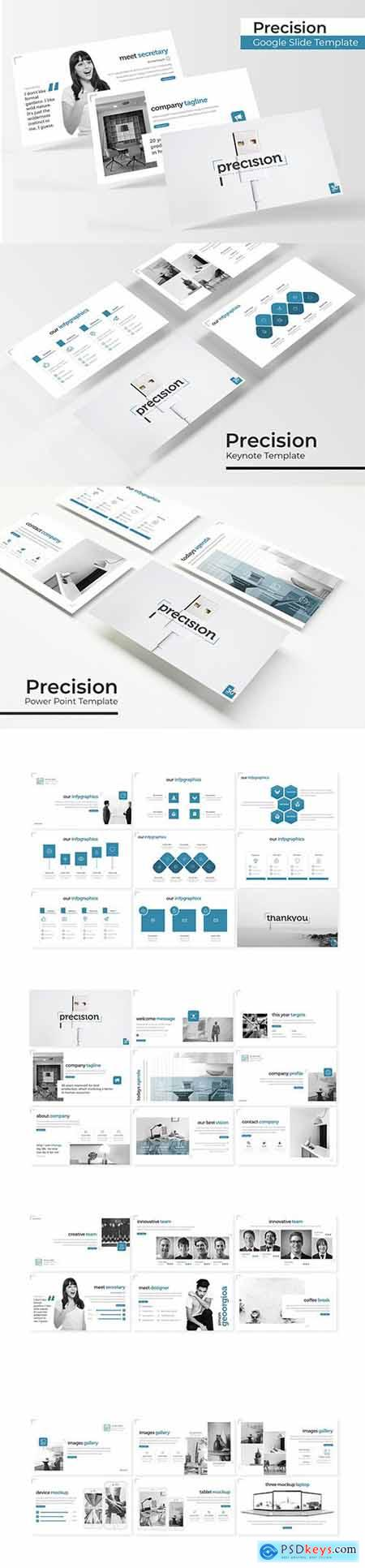 Precision - Powerpoint, Keynote and Google Slides Templates