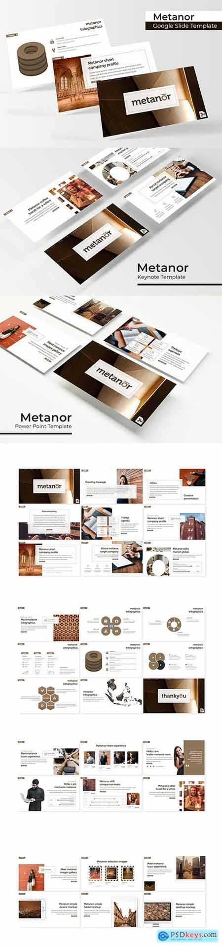 Metanor - Powerpoint, Keynote and Google Slides Templates