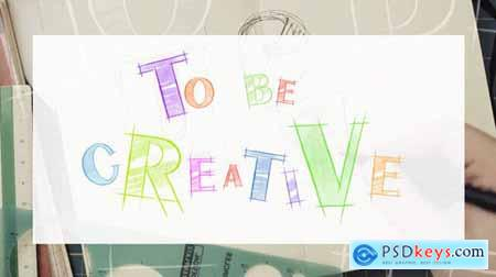 VideoHive Sketch Font