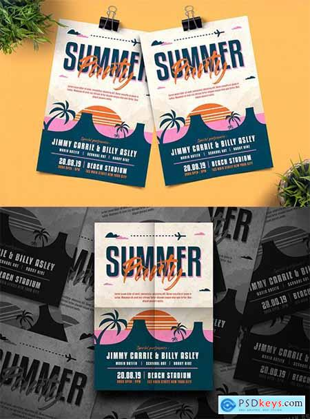 Summer Party Flyer M38EBS2
