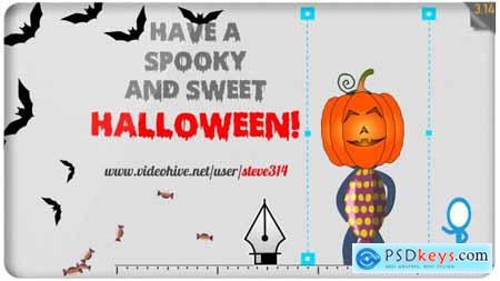 VideoHive Happy Halloween Funny Greetings