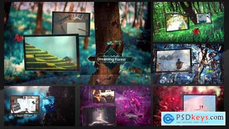 VideoHive Dreaming Forest Slideshow