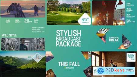 VideoHive Stylish Broadcast Package