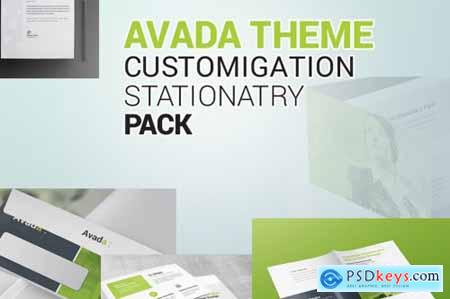 Avada Theme Customization Stationery Pack