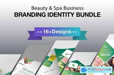Beauty and Spa Business Branding Identity 3602130