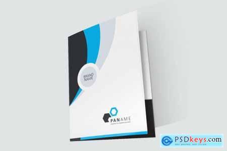 Corporate Business Presentation Folder 3599417
