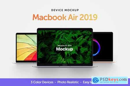 Macbook Air 2019 Mockup
