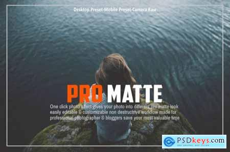 Pro Matte Collection Lightroom Preset