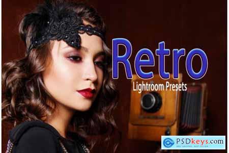 Retro Instagram Blogger Lightroom Presets