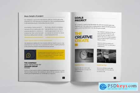Attractive Multipage Brochure 3602337