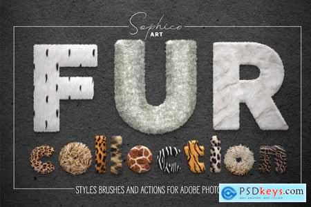 Fur Styles, Actions, Brushes 3855198