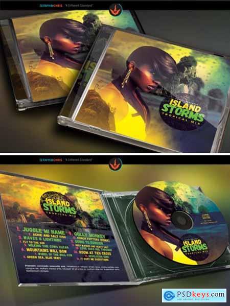 Tropical Island CD Artwork 1576476