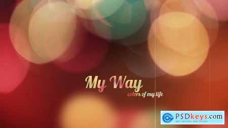VideoHive My Way 9244642