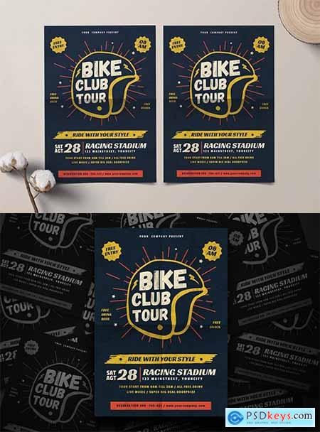 Bike Club Flyer