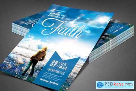 Author of Our Faith Church Flyer 3898529