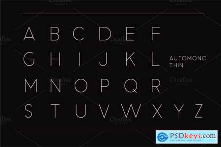 Automono Fonts 3920756