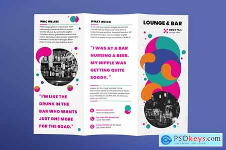 Lounge Bar Brochure Trifold 3923920