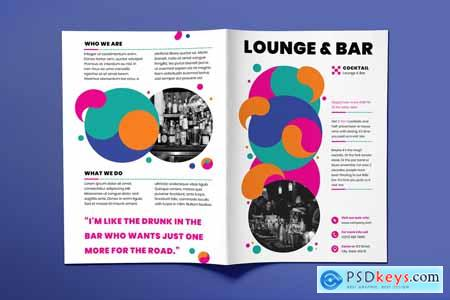 Lounge Bar Brochure Bifold 3923918
