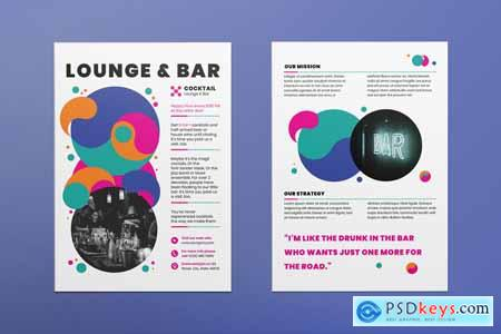 Lounge Bar Flyer 3923923