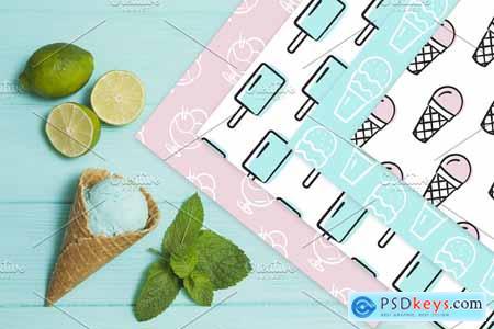 Brush Font and Ice Cream Pack 3921134