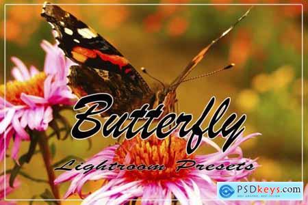 Butterfly Instagram Blogger Lightroom Presets