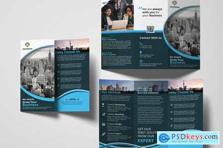 Corporate Trifold Brochure 3309872