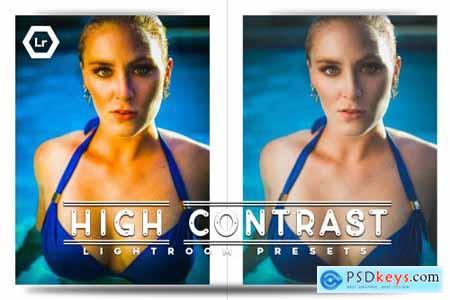 High Contrast Lightroom Presets