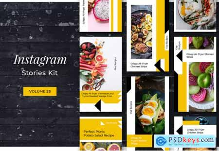 Instagram Stories Kit (Vol.28)
