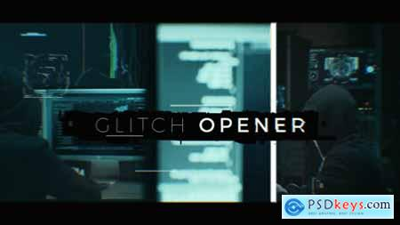 Videohive Exclusive Glitch Opener
