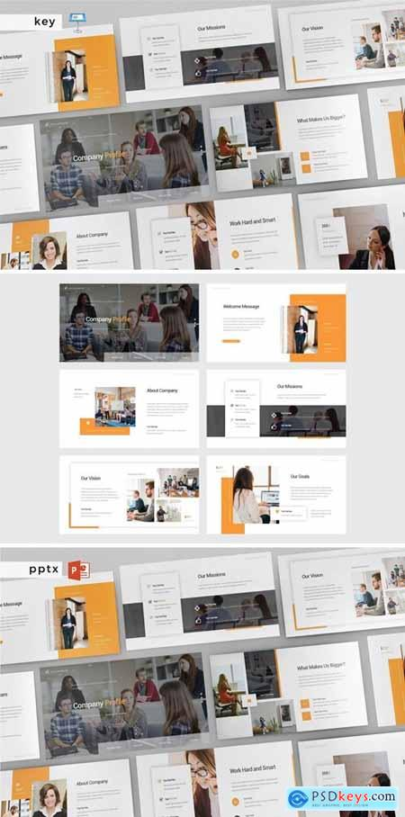 COMPANY PROFILE - Multipurpose Powerpoint and Keynote Template