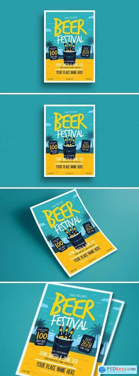 Summer Beer Festival Flyer