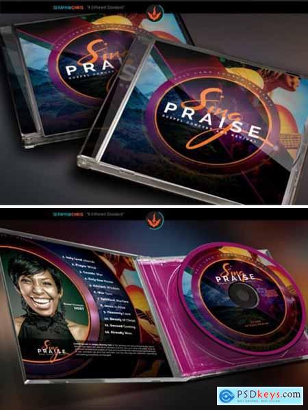 Sing Praise CD Artwork Template 1589942
