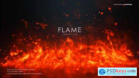 VideoHive FLAME Cinematic Titles