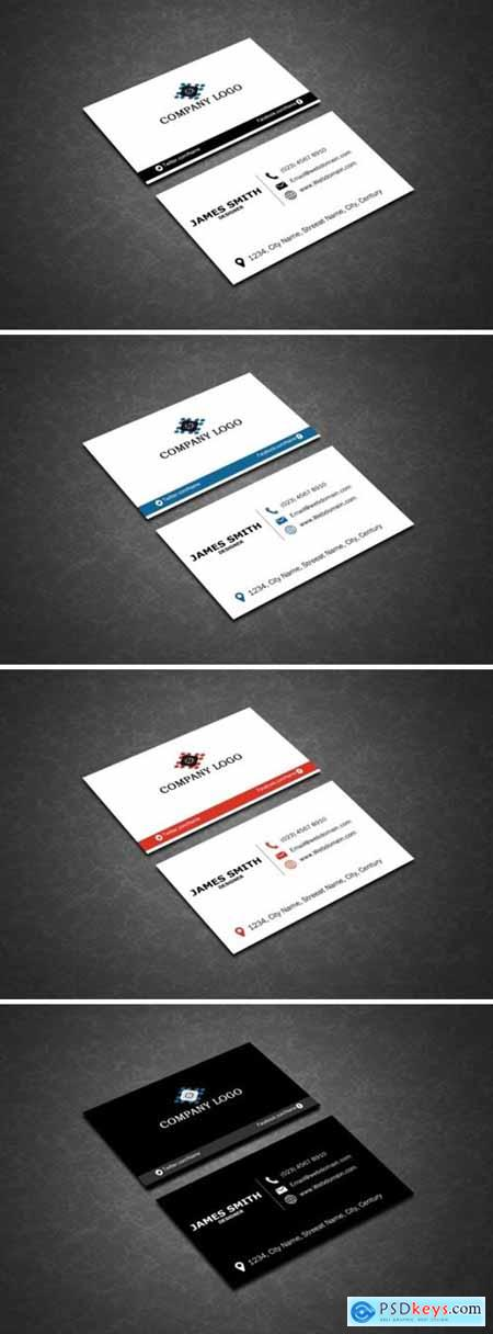 Clean Business Cards 1589636