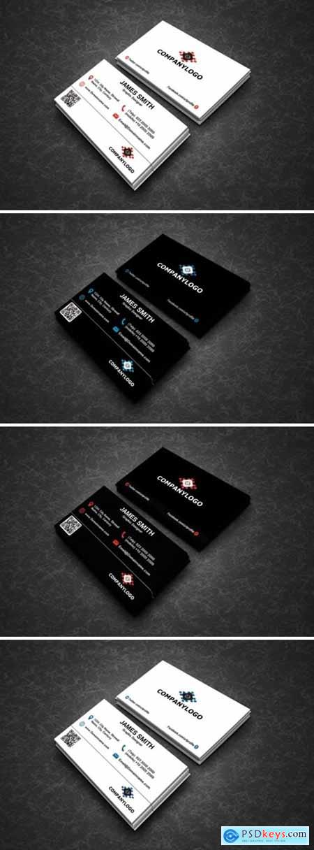 Clean Business Cards 1589631