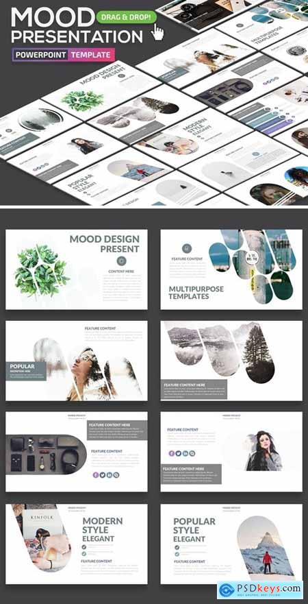 Mood Powerpoint Presentation and Keynote Template
