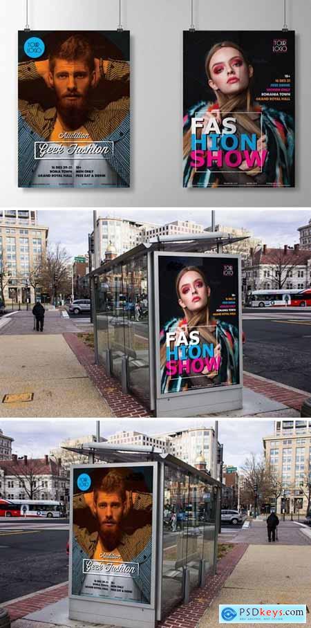 Flyers – Fashion Show Men Women 230796