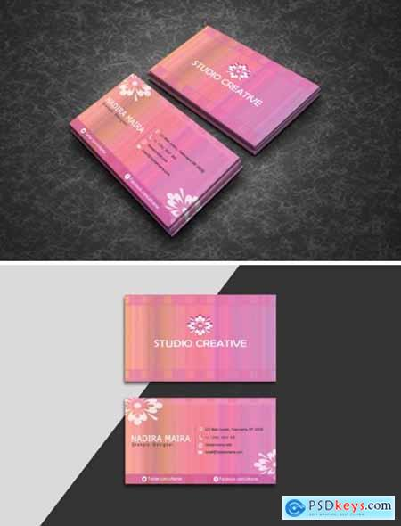 Watercolor Business Cards 1589606