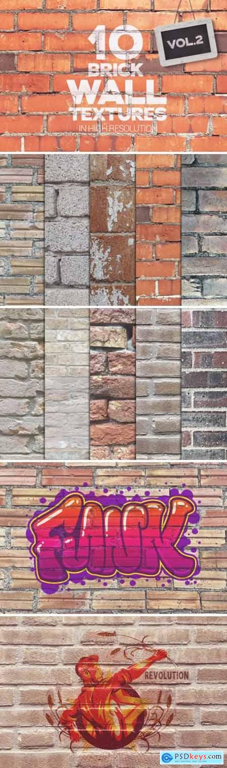 Brick Wall Textures X10 Vol2