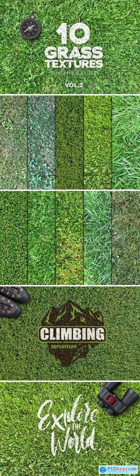 Grass Textures Vol2 X10 1593108