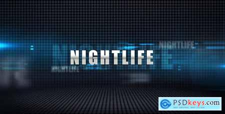 Videohive Nightlife - Media Display