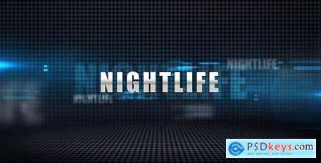 Videohive Nightlife - Media Display