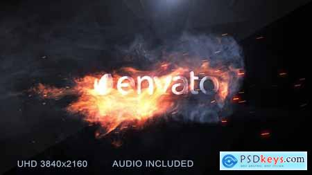 Videohive Flame Logo Reveal 23714915